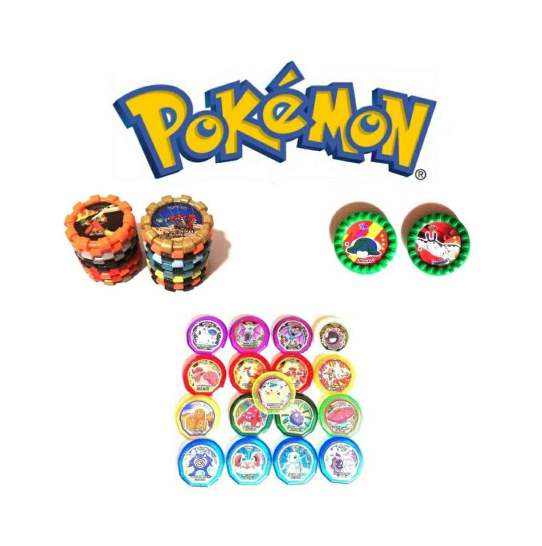 Imagen 3 Lotes De Tazos Pokémon