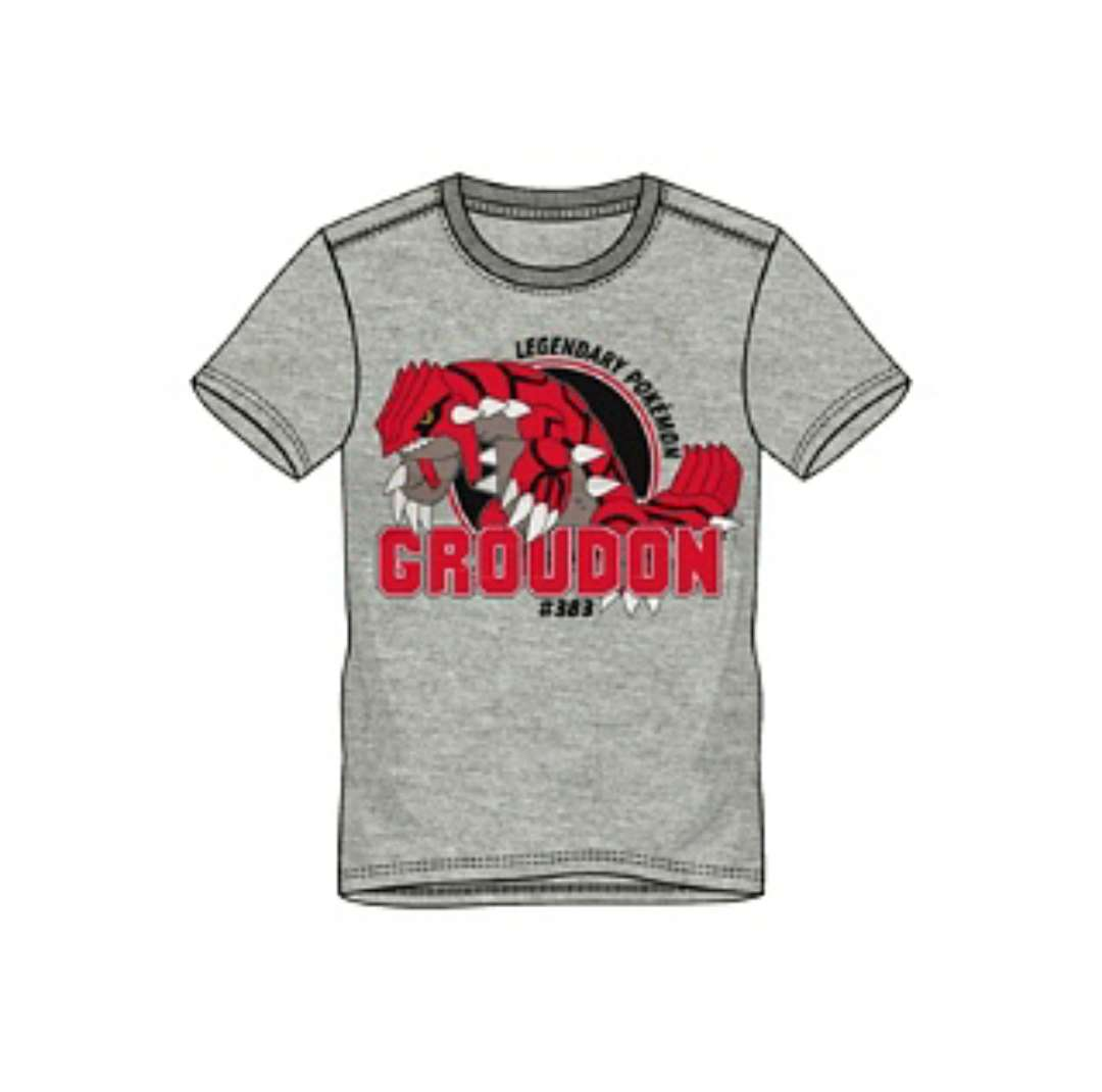 Imagen Camiseta Pokémon Groudon Nueva M