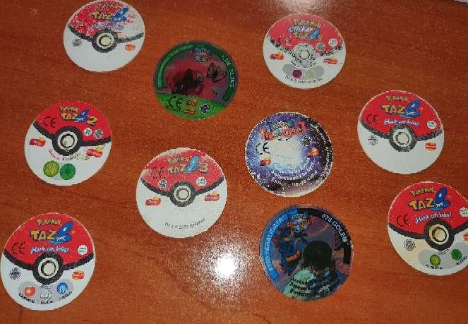 Imagen producto 10 Tazos Pokémon 2