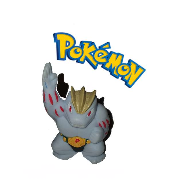 Imagen Figurita Machoke Pokémon Bandai
