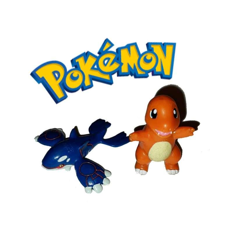 Imagen Lote De 2 Figuritas Pokémon