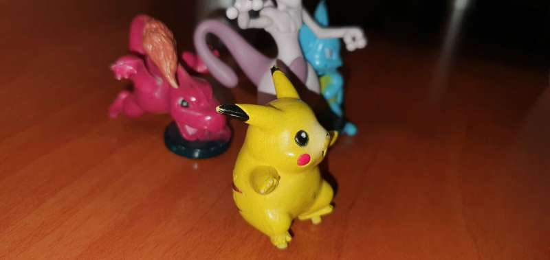 Imagen producto Lote De 4 Figuritas Pokémon 3