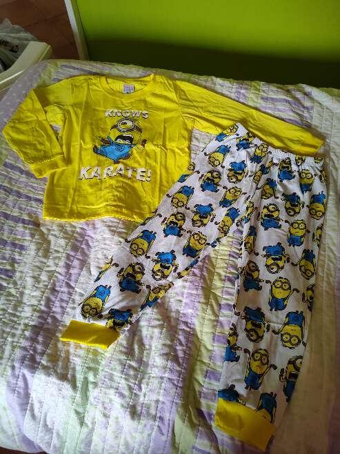 Imagen Pijama Minions Karate