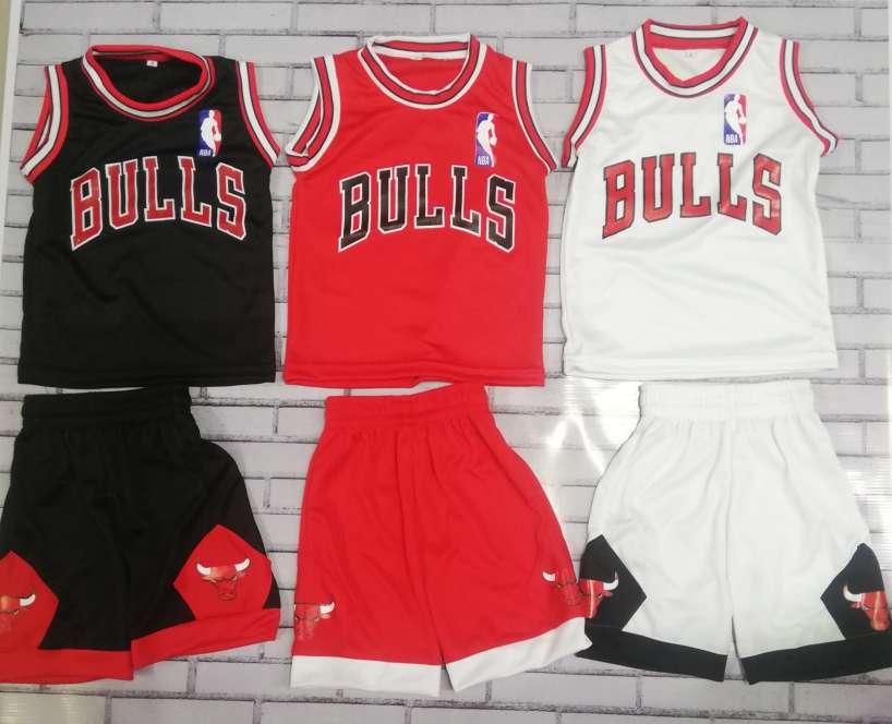 Imagen Uniformes Chicago Bulls