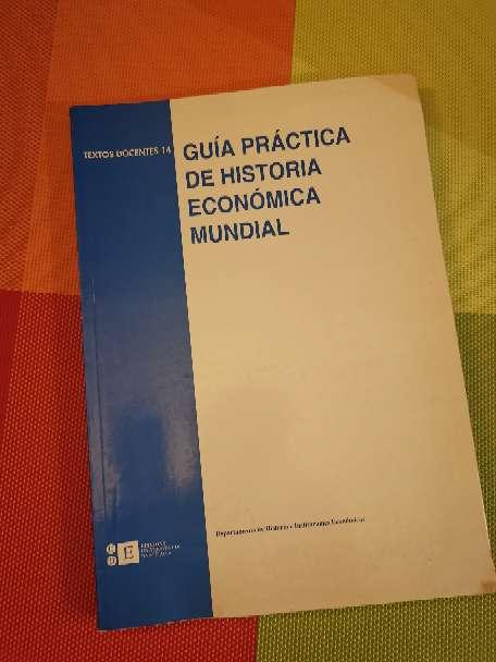 Imagen Guía práctica de historia económica mundial