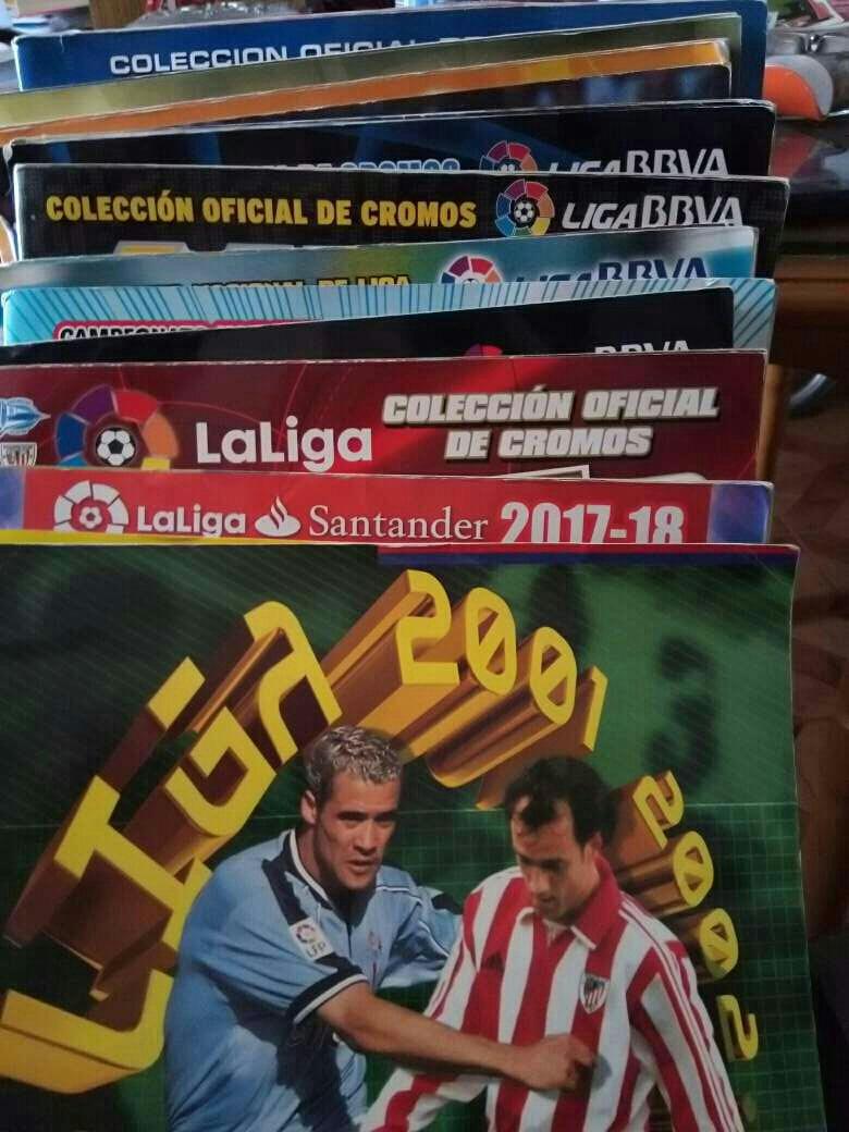 Imagen Albunes de fútbol ediciones este.