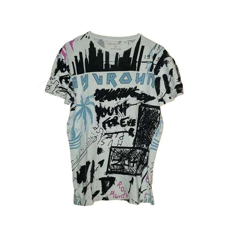 Imagen producto Camiseta Marca Primark. 1