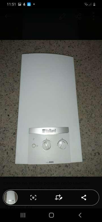 Imagen vendo calentador eléctrico nuevo