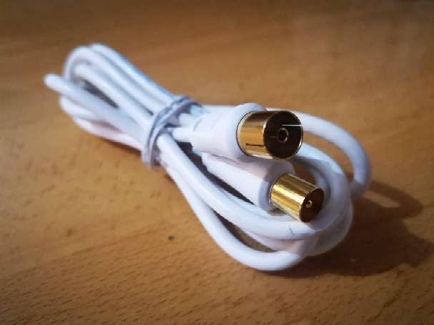Imagen Cable coaxial de televisión