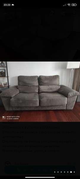 Imagen Sofa tapizado 3 plazas