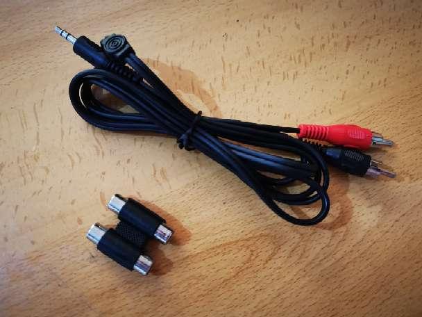 Imagen Cable Audio Estéreo Jack 3,5mm a 2RCA