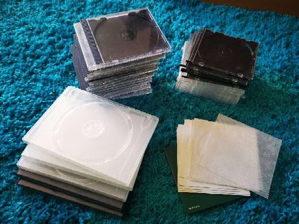 Imagen Cajas vacías para CD, DVD o BluRay