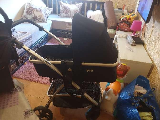Imagen producto Carro de bebé con tres piezas  2