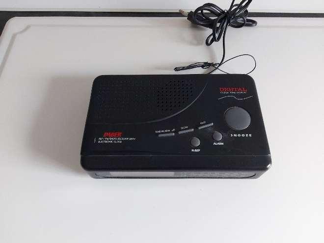 Imagen radio despertador digital