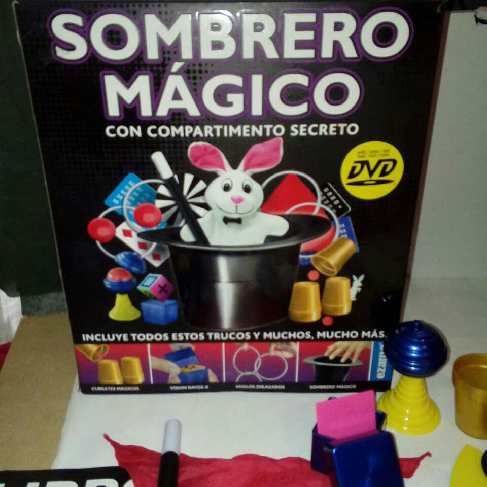 Imagen  Juego de magia sombrero magico.