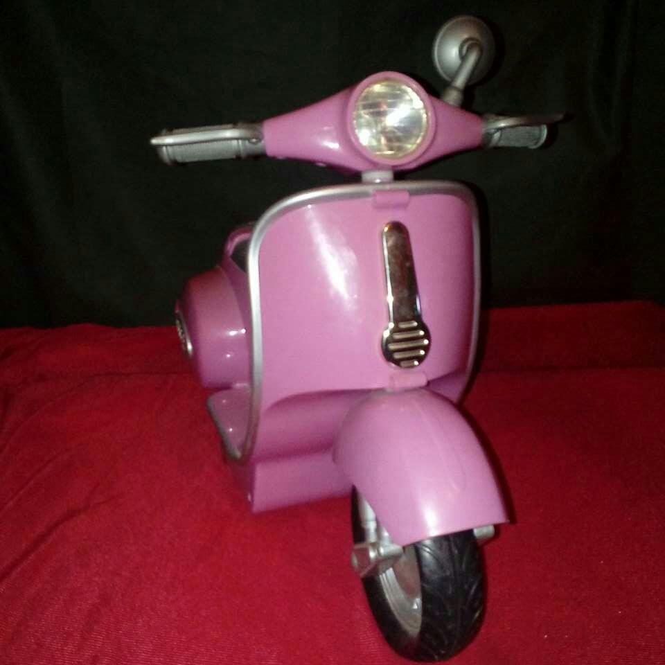 Imagen Moto para muñecos.