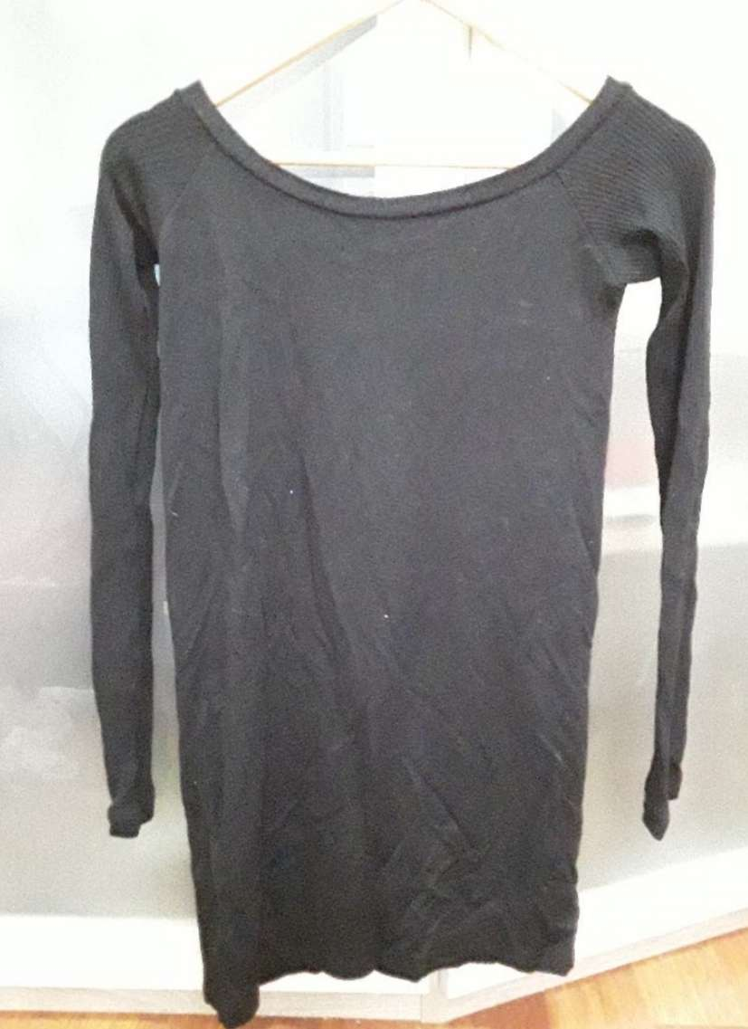 Imagen Vestido/ camiseta larga negra