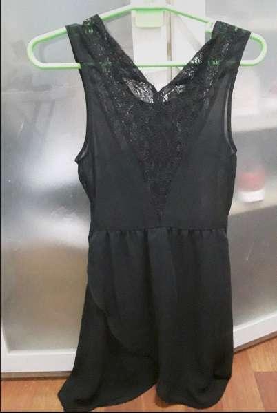 Imagen Vestido negro informal e informal
