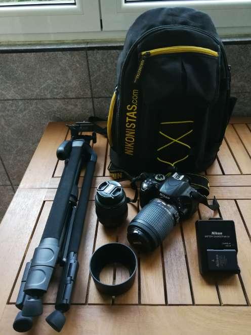 Imagen Cámara de fotos Nikon D5100 Kit Fotografía