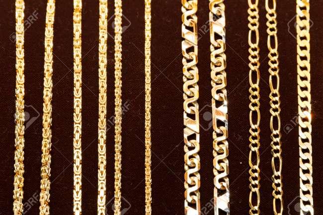 Imagen cadenas de oro 18k y 24k