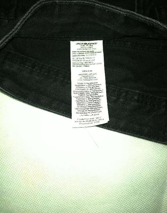 Imagen producto Pantalón Corto Jack & Jones M Negro 2