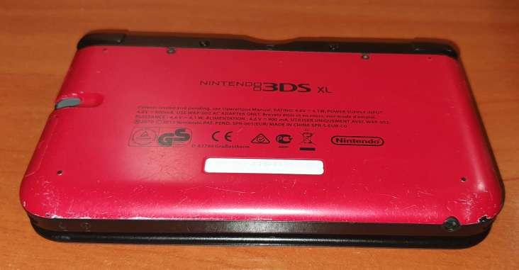 Imagen producto Nintendo 3DS XL Color Rojo  2