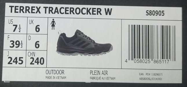 Imagen producto Zapatillas Adidas Terrex Tracerocker  Women n°39 1/3 3
