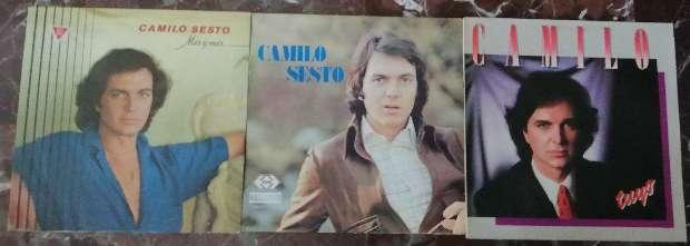 Imagen Discos vinilos Camilo Sesto