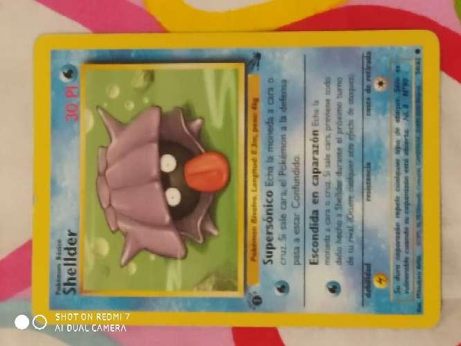 Imagen carta Pokémon 1°edicion