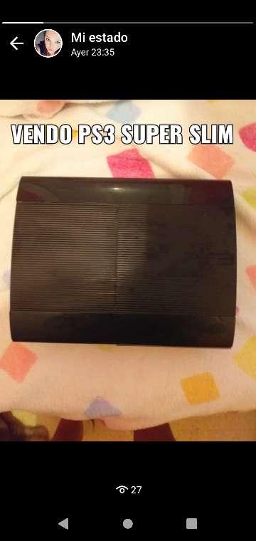 Imagen VENDO PS3 SUPER SLIM