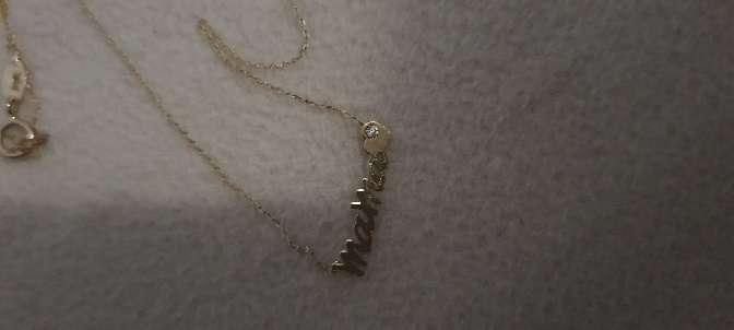 Imagen producto Cadena oro con nombre  4
