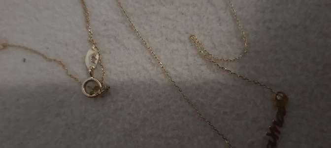 Imagen producto Cadena oro con nombre  3