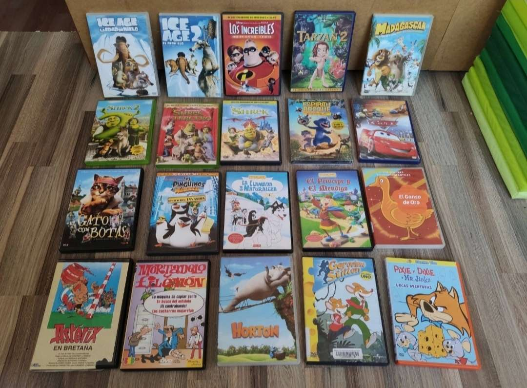 Imagen producto DVD películas de dibujos 1