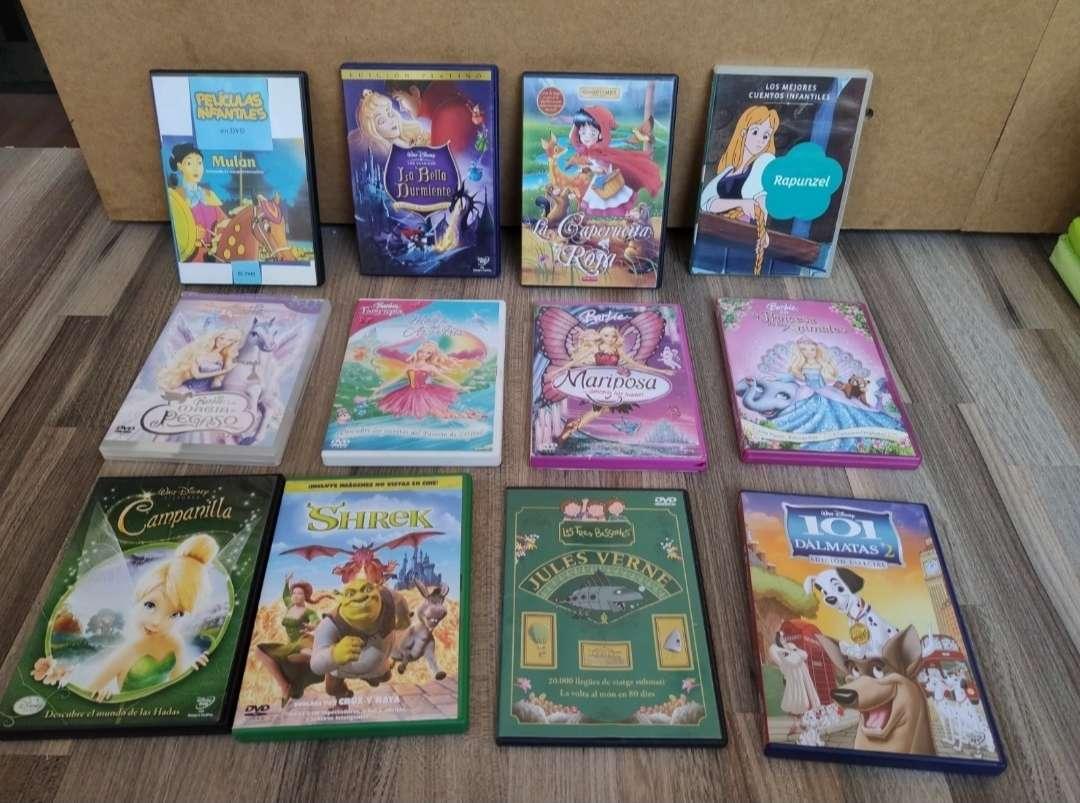 Imagen DVD películas dibujos