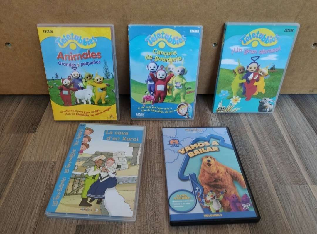 Imagen DVD dibujos