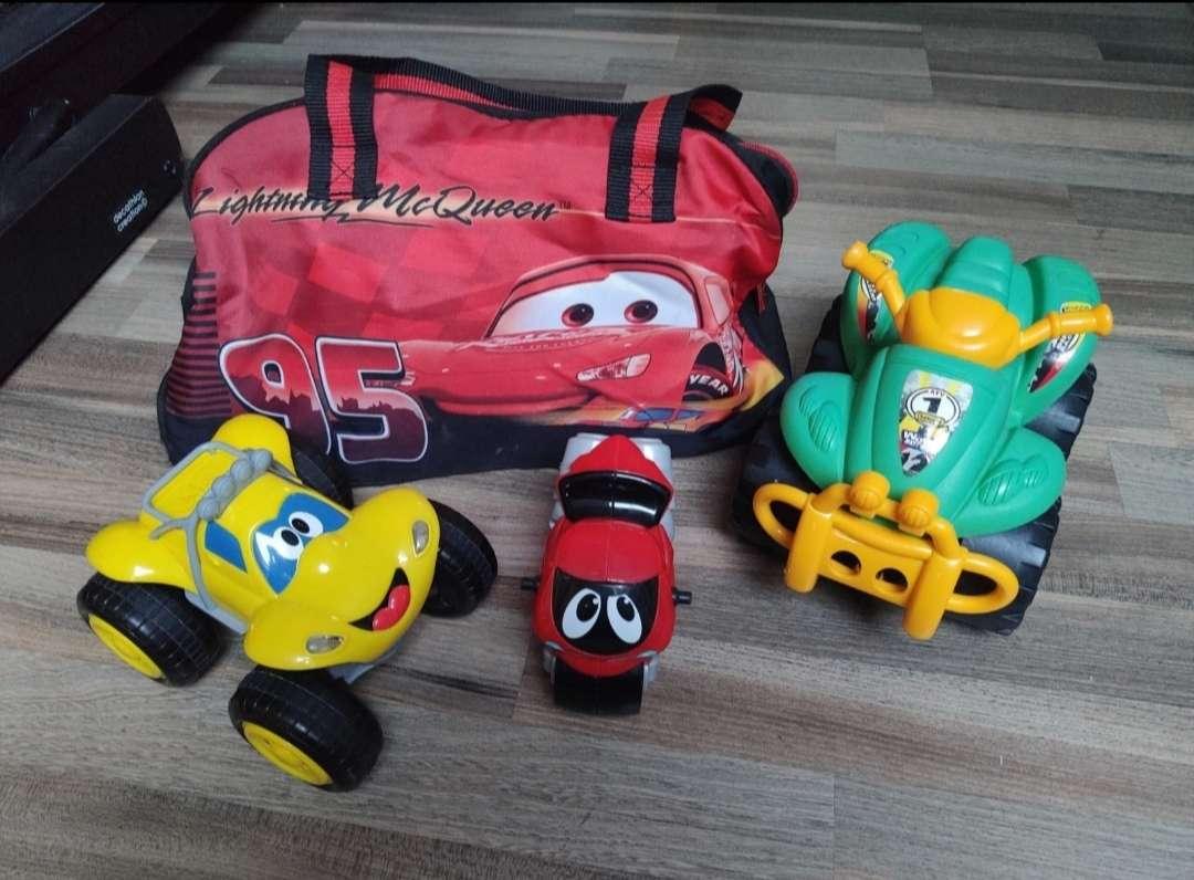 Imagen mochila Cars con coches