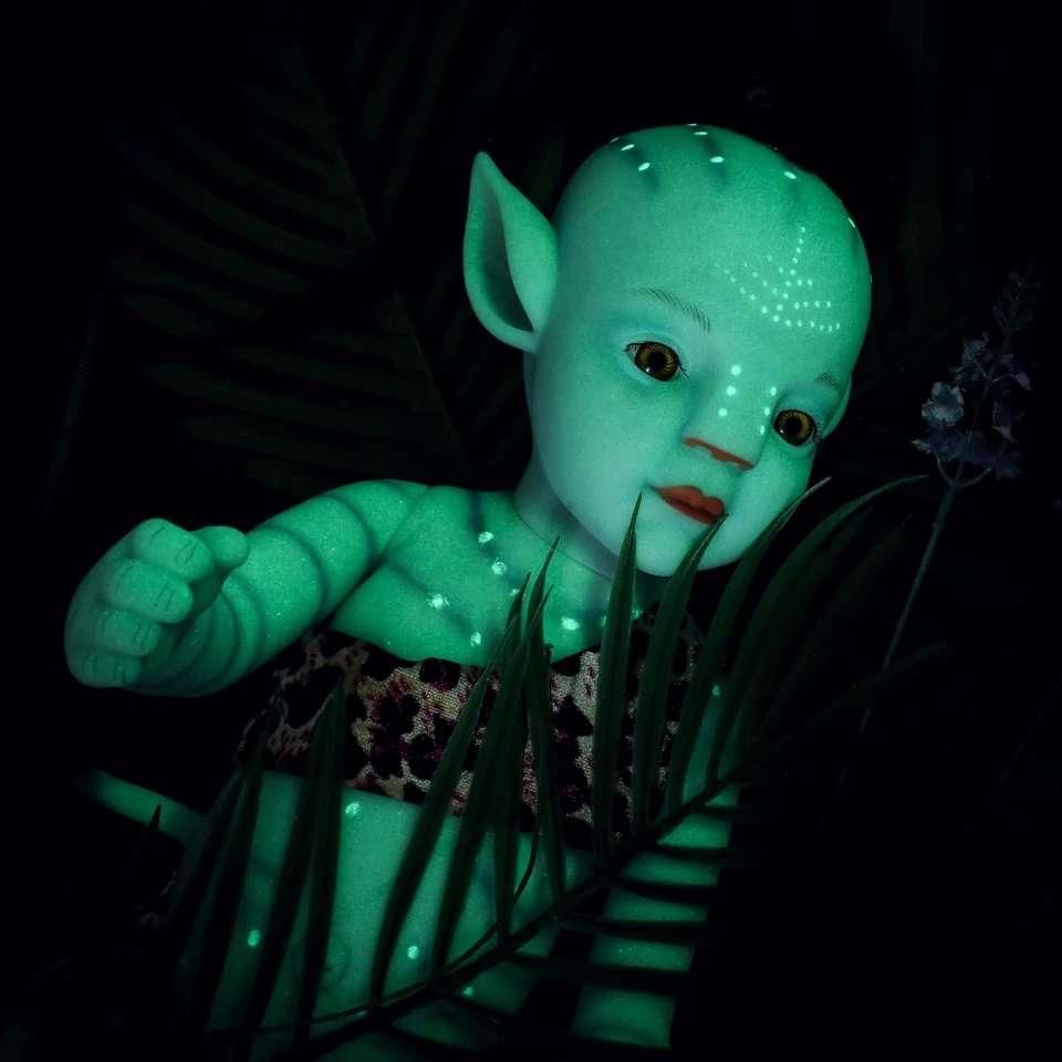 Imagen producto Bebé avatar brillan en la oscuridad 3