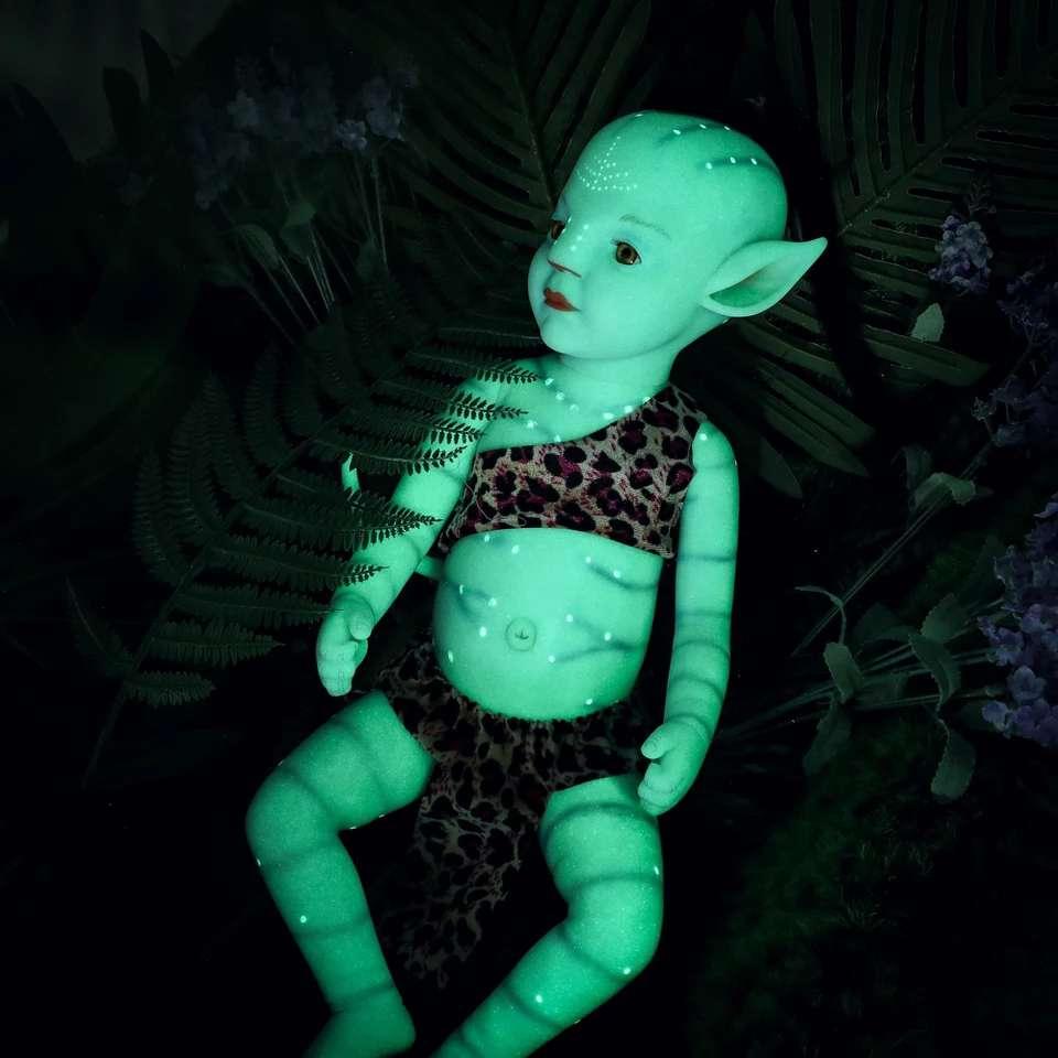 Imagen producto Bebé avatar brillan en la oscuridad 2