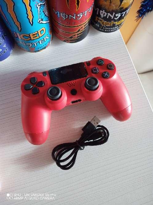 Imagen Mando ps4 rojo nuevo compatible