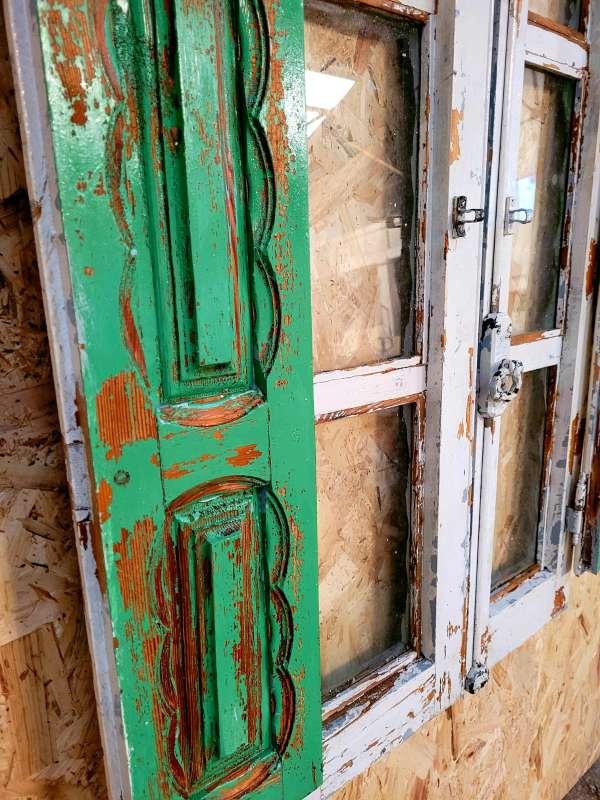 Imagen producto Ventana antigua decorada y restaurada 3