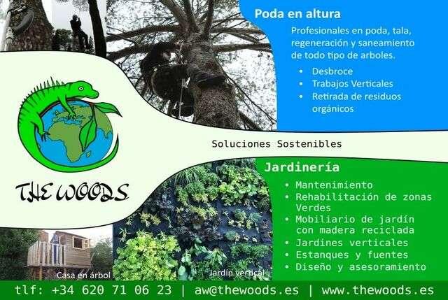 Imagen Jardinería , apeos, tala de árboles