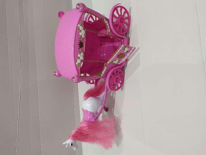 Imagen Carroza Princesa Barbie