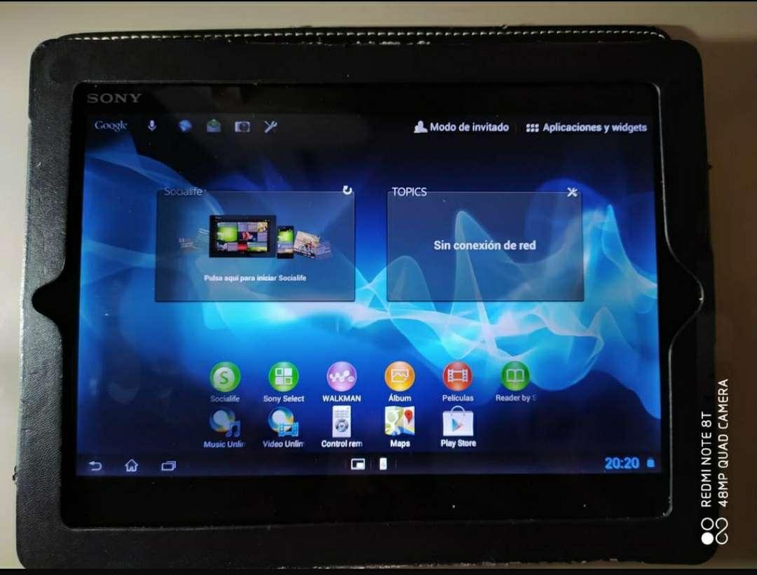 Imagen Vendo tablet Sony Xperia S