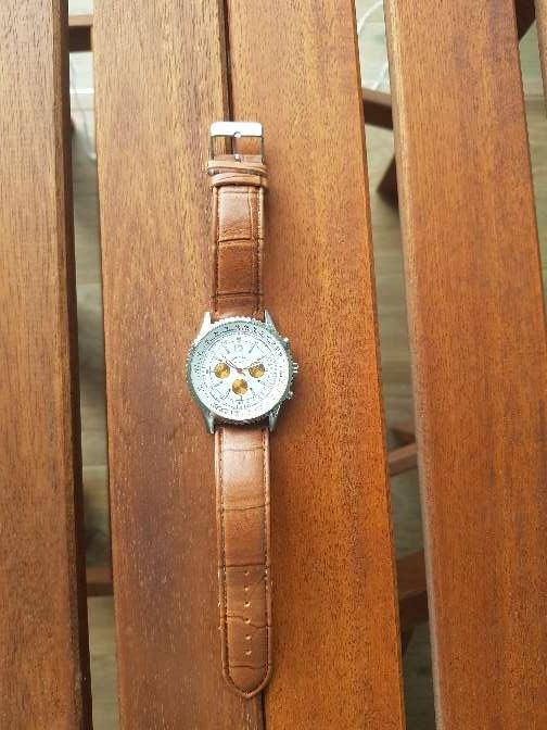 Imagen producto Reloj Louis Valentin piel. hombre 4