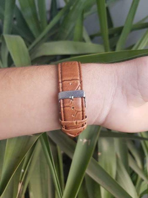 Imagen producto Reloj Louis Valentin piel. hombre 2