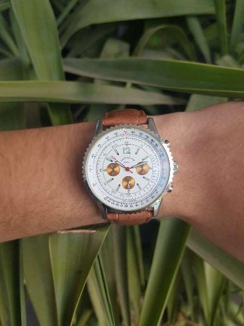Imagen producto Reloj Louis Valentin piel. hombre 1