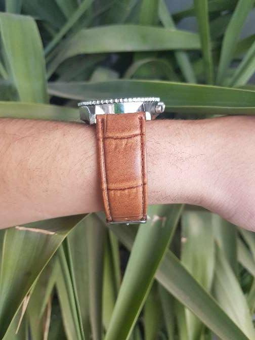 Imagen producto Reloj Louis Valentin piel. hombre 3
