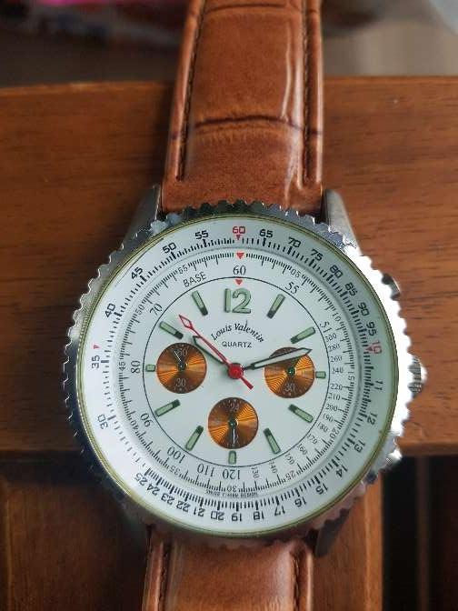 Imagen producto Reloj Louis Valentin piel. hombre 7