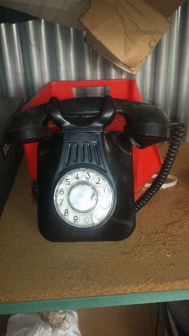 Imagen teléfono antiguo