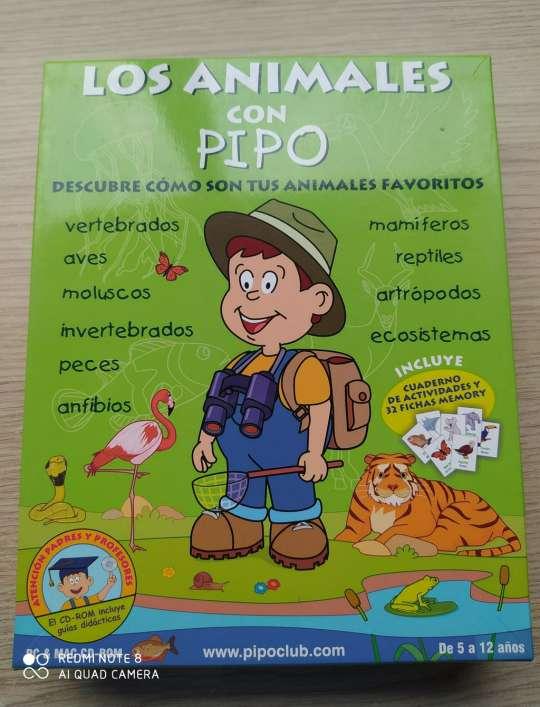 Imagen Juego educativo: Los animales con PIPO